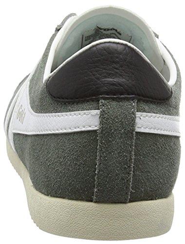 Gola Bullet Suede, Zapatillas para Hombre Gris - Grey (Grey/White)