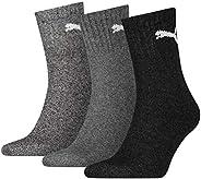 Puma Unisex Adult Crew Socks (Pack of 3)