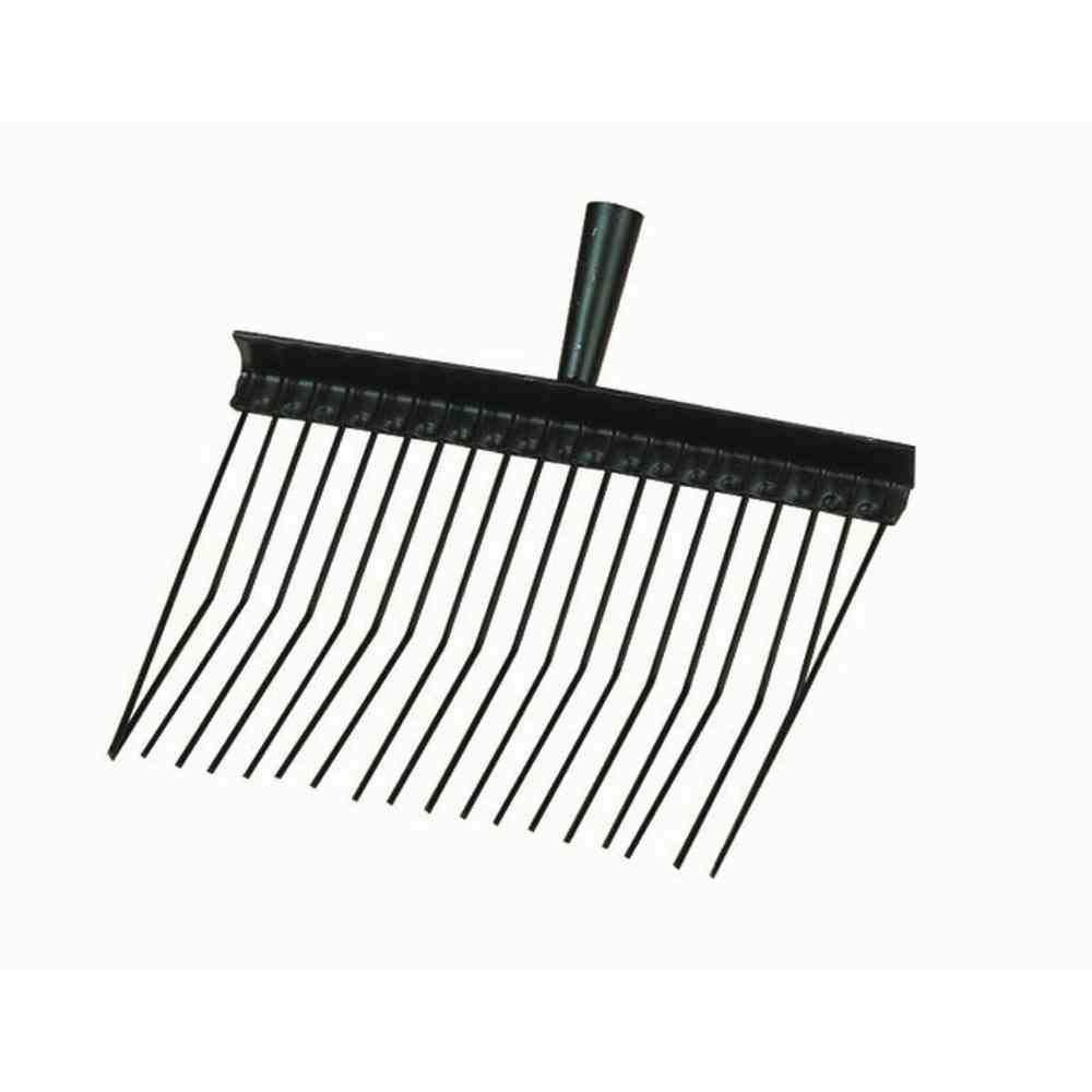 Kerbl - Tenedor para caballos (metal, 20 dientes)