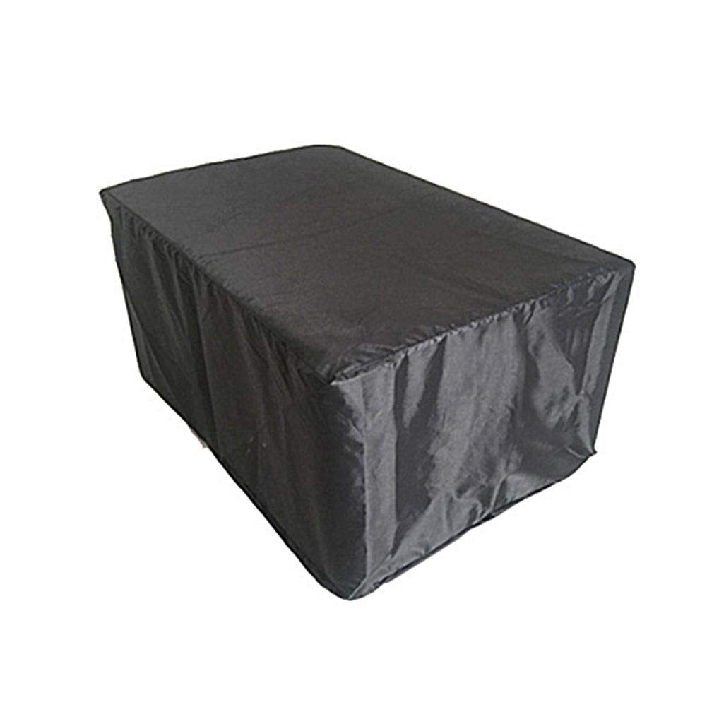 xluckx 420D Oxford Cloth Waterproof Garden Furniture Cover, Rain Cover Garden Waterproof Sunscreen Table And Chair Dust Cover