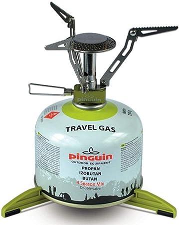 Hornillo de gas de senderismo camping pingüino: Amazon.es ...