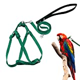 ASOCEA Adjustable Feather Tether Bird Harness and