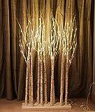 FestalED 6 feet LED Lighted Birch Grove tree192 LEDs Perfect Christmas Tree Lights Warm White