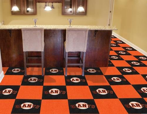 MLB - San Francisco Giants Carpet Tiles - Giants Carpet