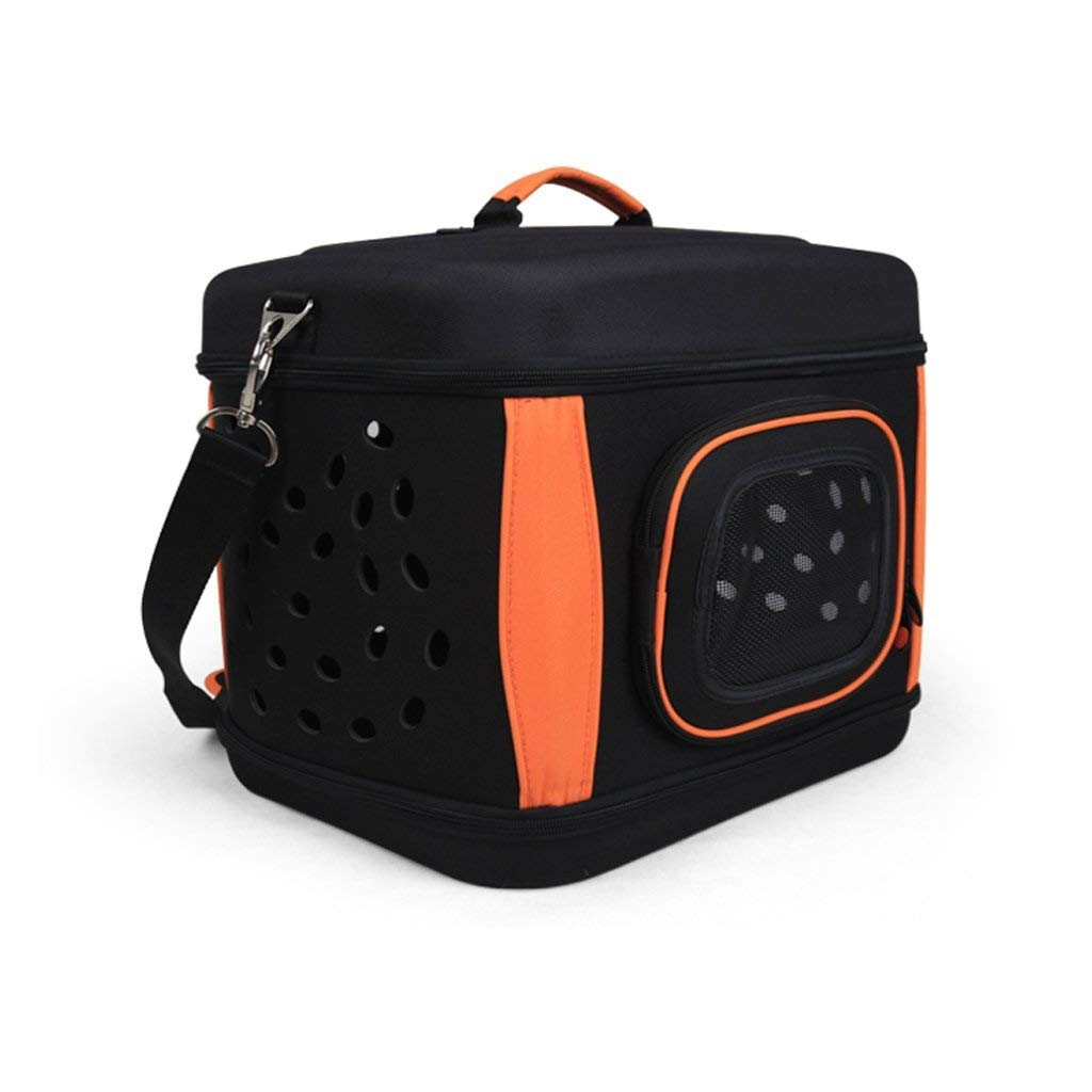 LYLa Portable Pet Aviation Box Collapsible Pet Backpack Multipurpose Dog Nest Suitable for Small Dogs Cats