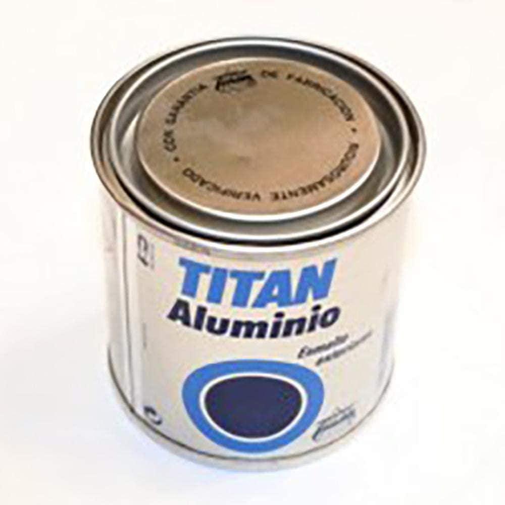 Titan M30712 - Esmalte aluminio exteriores 125 ml