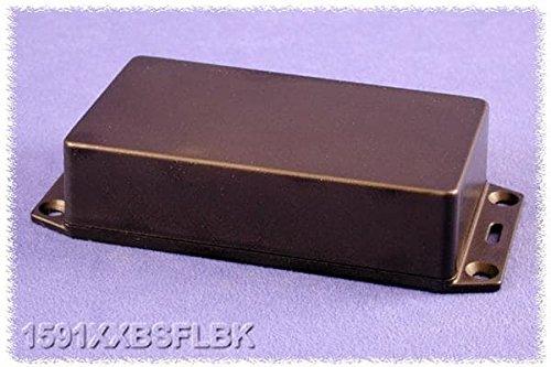 HAMMOND 1591XXFSFLBK Enclosure 1 piece 150 mm Multipurpose Flanged Lid IP54 63 mm Plastic 221 mm Black