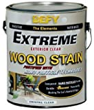 Defy Extreme Clear Wood Stain 1-gallon