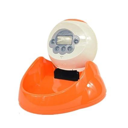 Alimentador automático Precioso dispensador automático de alimentación para Mascotas de la máquina de alimentación con Temporizador
