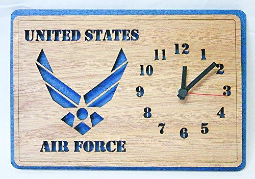 Air Force Wings Wall Clock