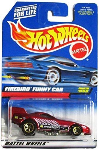 Diecast Funny Car - Mattel Hot Wheels 1999 1:64 Scale Maroon Firebird Funny Car Die Cast Car Collector #998