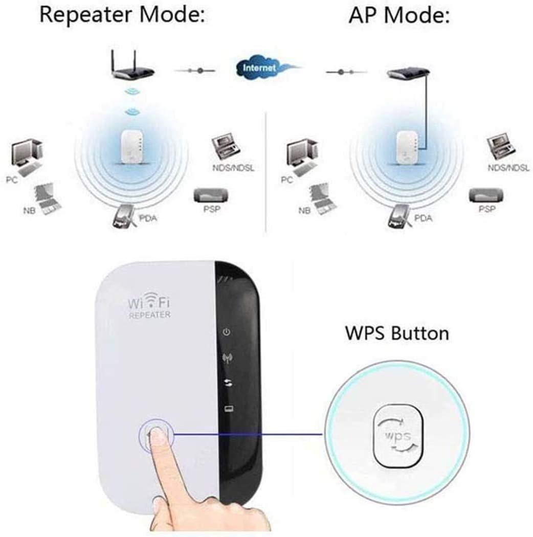 Cokil Amplificateur de Signal dexpanseur de Gamme de routeur de r/éseau de r/ép/éteur de WiFi sans Fil Composants PC