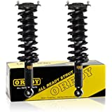 OREDY Rear Pair Quick Complete Shock Strut Coil Springs Assembly Kit 15870 XS842200720 341443 Compatible with 2000 2001 2002 2003 2004 Subaru Outback AWD