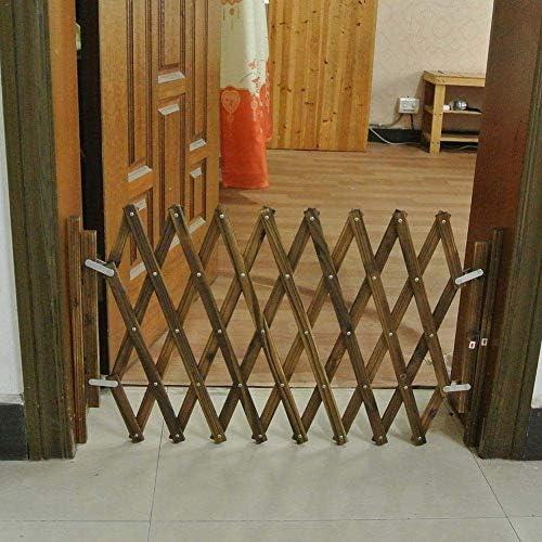 Jlxl Puerta Madera para Mascotas para Perros, Barrera Seguridad Plegable para Mascotas, Puerta Corredera Retráctil para Perros Pequeños Y Medianos (Size : 33-93cm): Amazon.es: Productos para mascotas