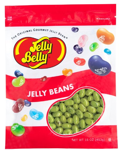 Juicy Pear Jelly Beans - 16 oz Re-Sealable Bag (Jelly Juicy Pear)