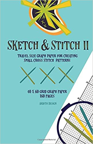 sketch stitch ii travel size graph paper for creating small cross