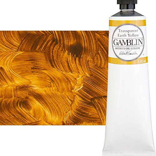 (Gamblin Artist Oil Color - Transparent Earth Yellow - 150 ml)