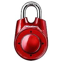 Master Lock 1500iD Establezca su propio candado de combinación direccional, 1 paquete, colores surtidos