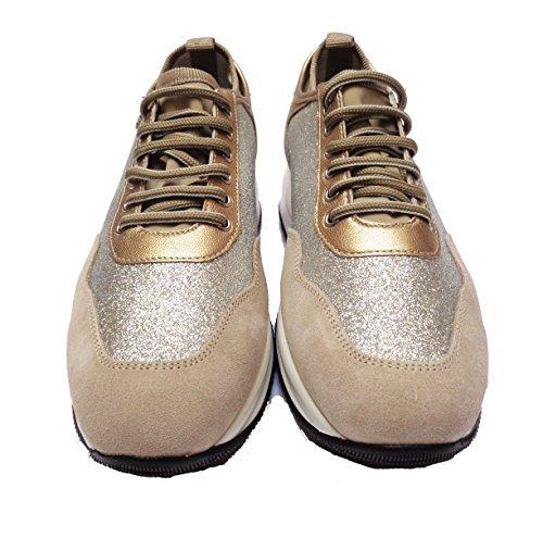 mujer FRAU para Zapatos beige 40 de beige cordones vIqnOwxIzr