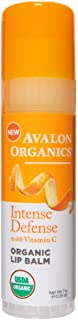 product image for Avalon Organics Intense Defense Lip Balm, 0.25 oz. (Pack of 4)