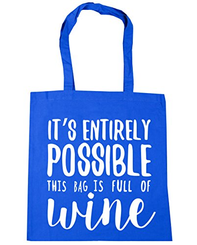 x38cm HippoWarehouse Beach wine 10 Cornflower entirely of Blue Bag litres Tote It's bag possible is Shopping 42cm Gym this full RR14rZq7