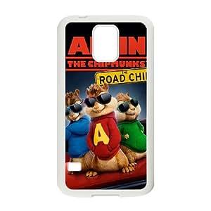 Samsung Galaxy S5 Shell Phone Case for Classic Theme Alvin and the chipmunks comic Cartoon pattern design GAATC196637