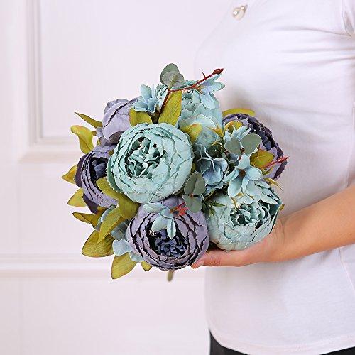 Review LeagelFake Flowers Vintage Artificial