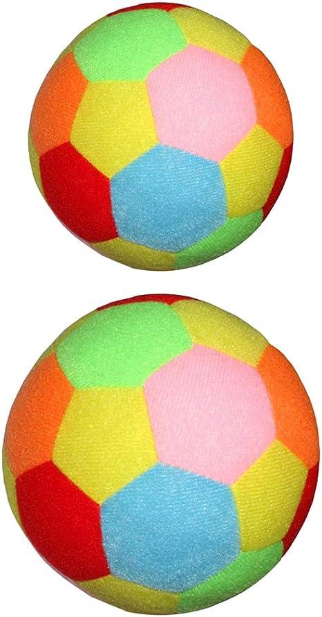 perfeclan 2 Pedazos 9.5cm 15.5cm Balón de Fútbol Suave para Niños ...