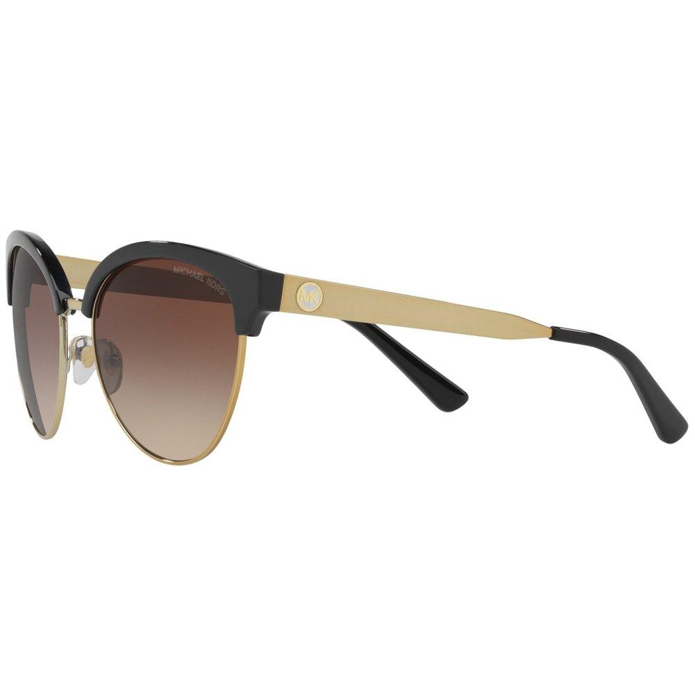 d3d32381ab Amazon.com  Michael Kors MK2057 330513 Black Gold Amalfi Cats Eyes  Sunglasses Lens Catego  Michael Kors  Clothing