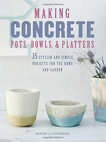 [Making Concrete Pots, Bowls, and Platters: 37 stylish and simple projects for the home and garden] (Art Platter)