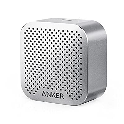 Anker SoundCore nano, Super-Portable Bluetooth Speaker, Wireless Speaker with Big Sound and Hands-Free Calling, works with iPhone, iPad, Nexus, Laptops and More