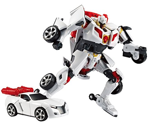 Tobot Youngtoys Evolution Y Shield-On Car Transforming Robot Car to Robot Animation Character by Tobot (Image #3)