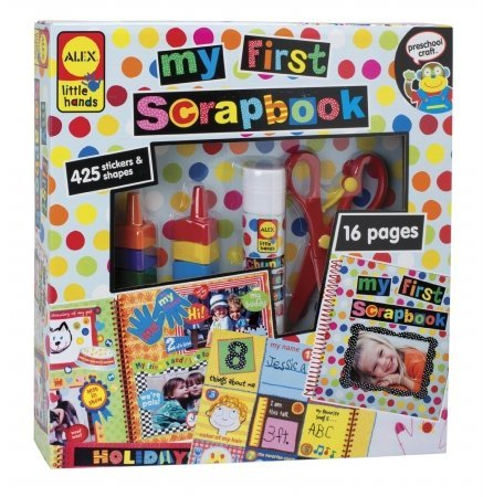 POOF-Slinky 0A1436 ALEX Toys Early Learning My First Scrapbook 1436