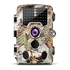 Ailink Game Camera HD Trail Camera Infrared Night Vision for Wildlife Scouting Hunting