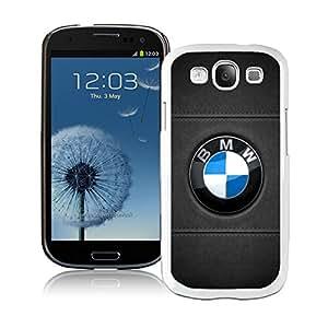 Unique S3 Case,BMW 10 White Phone Case For Samsung Galaxy S3 Cover Case
