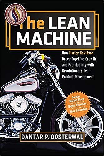 The Lean Machine: How Harley-Davidson Drove Top-Line Growth