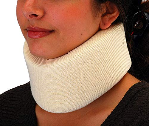 NOVA Neck Brace, Foam Cushion Cervical Collar, Soft & Breathable Removable Cover, Easy to Adjust and Secure, Comes in 3 Neck Height Sizes: 2.75