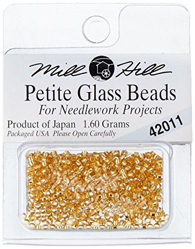 Mill Hill Petite Glass Seed Beads, Victorian Gold ()
