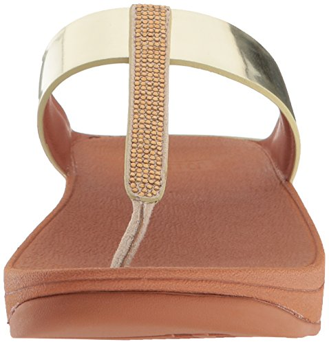 Fino Post Toe Fitflop Sandals Womens Gold Bfwxp8R1q