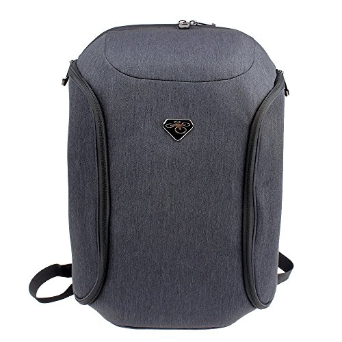 Anbee Hard Shell Outdoor Backpack Rucksack Travelling Bag Case for DJI Phantom 3, Phantom 4 Quadcopter (For DJI Phantom 4)