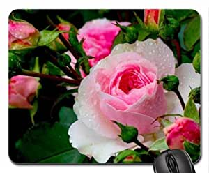 After rain Mouse Pad, Mousepad (Flowers Mouse Pad) by runtopwell