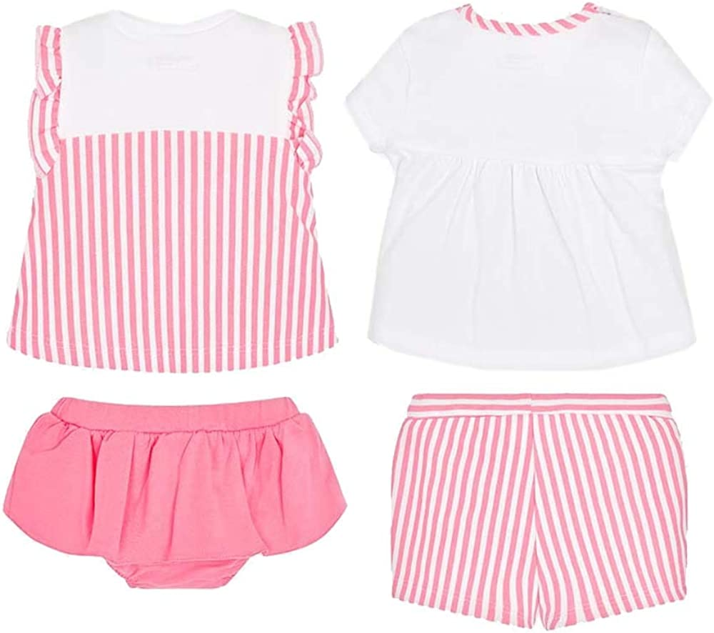 Mayoral Combinable 2 Shorts Outfits for Baby Girl