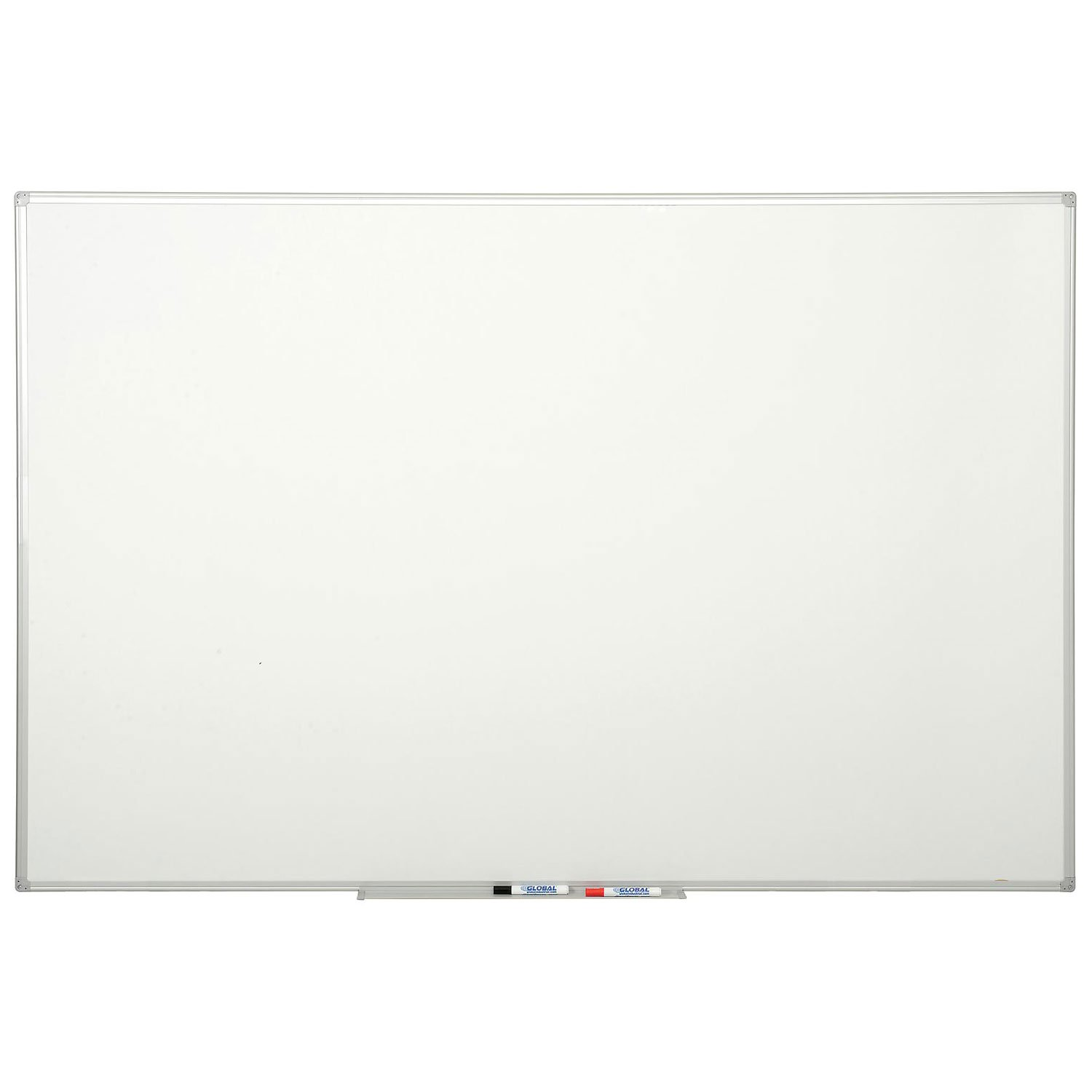 Double Sided Dry Erase Whiteboard - 72 x 48 - Melamine by Bi-Silque Visual Communication Products Inc