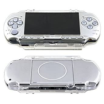 official photos 7284c 0581e Clip on Crystal Case Compatible with Sony PSP 3000, Clear: Amazon.co ...