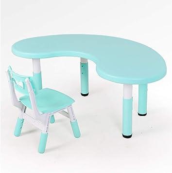 Juego de mesa y silla de estudio para niños, mesa de juego de ...