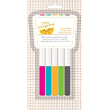 American Crafts 5-Pack Amy Tangerine Yes Please Slick Writer Marker