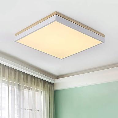 Amazon.com: Lámpara de techo cuadrada LED de 12 W ...