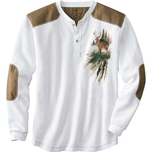 Legendary Whitetails Men's Long Sleeve Cotton Thermal Comman
