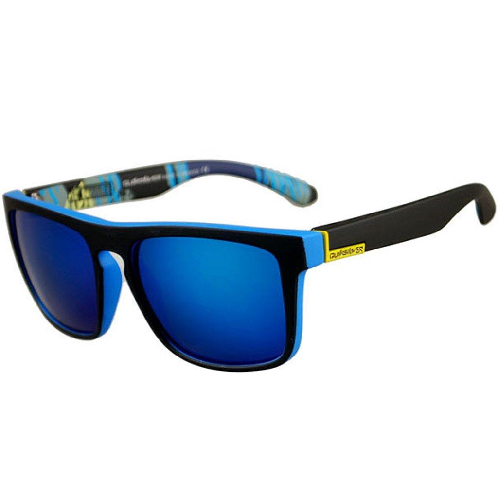 JAGENIE Gafas de sol cuadradas para hombre, para conducción al aire libre, deportes, pesca, etc. C7: Amazon.es: Hogar