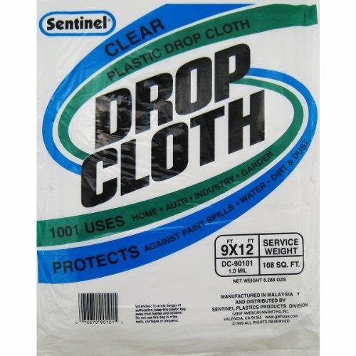 Drop Cloth 9' x 12' 1.0 mil